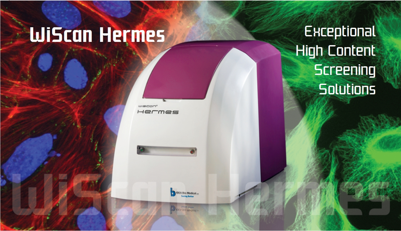 WiScan Hermes high content imaging system by IDEA Bio-Medical